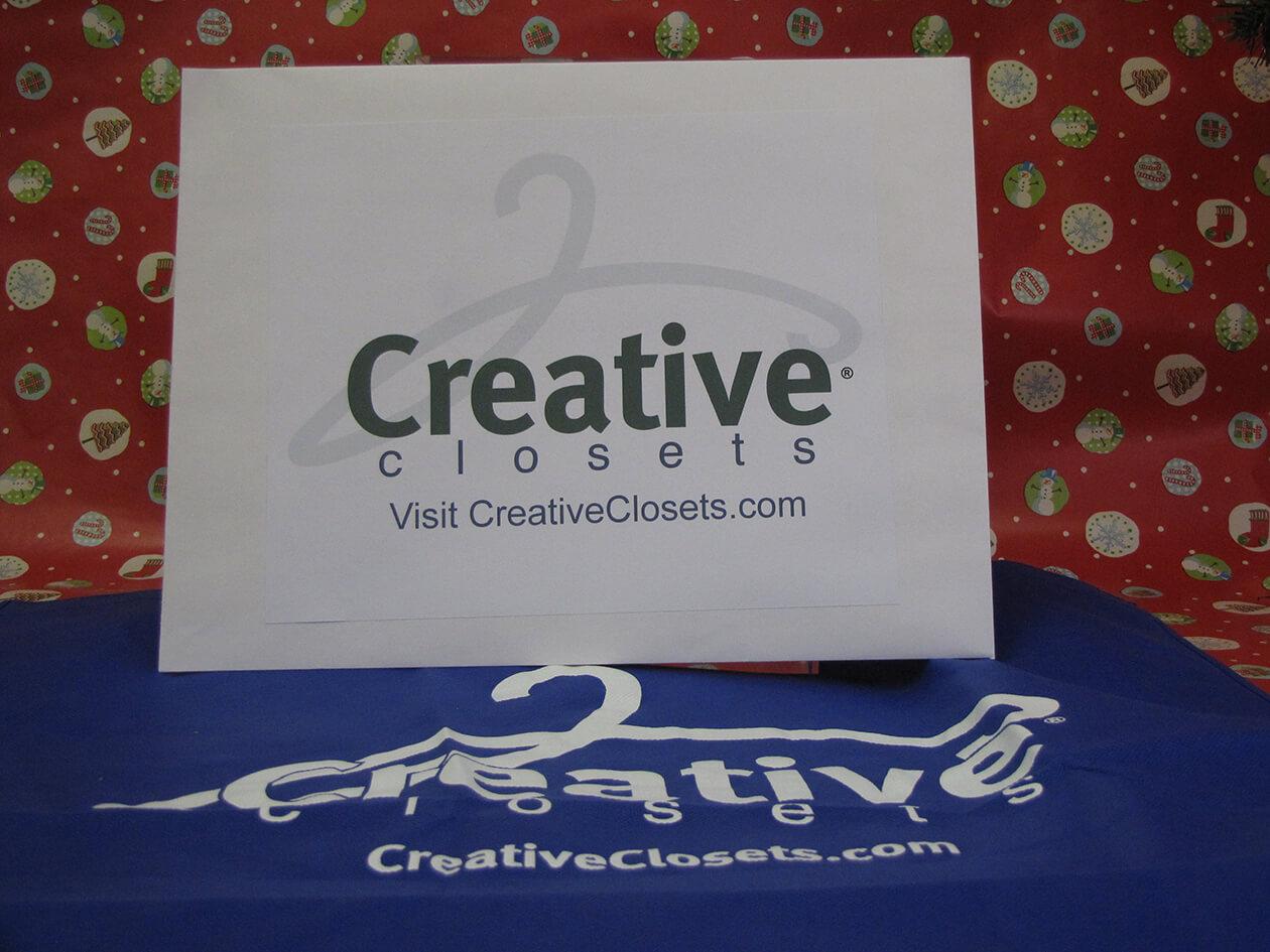 Creative Closets Gift Certificate