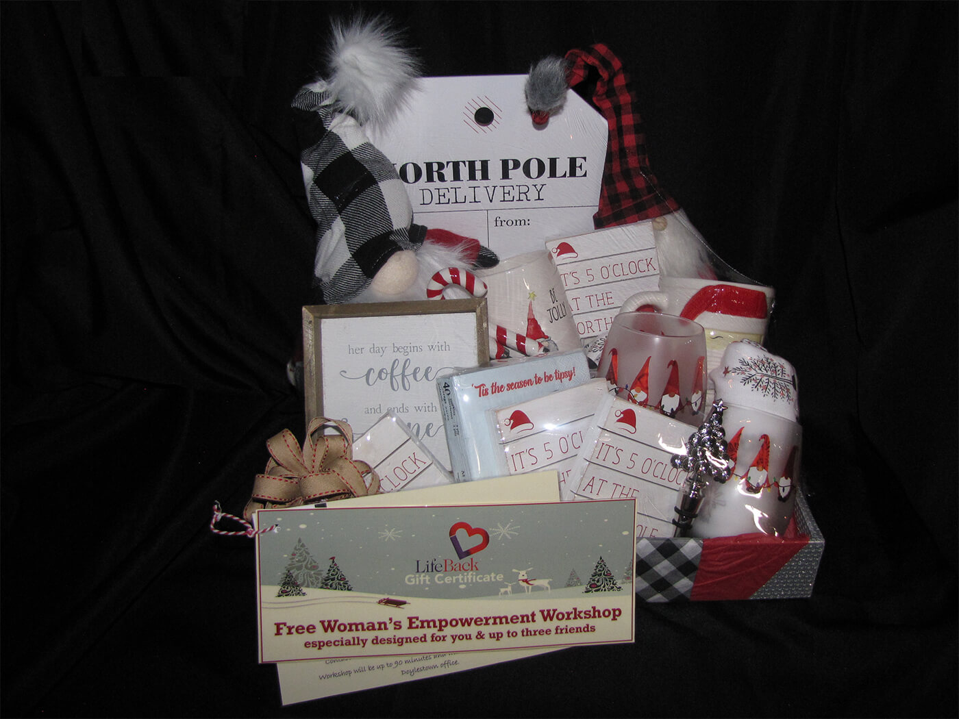 North Pole Gift Basket
